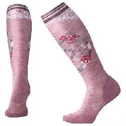Smartwool Women's PhD Ski Light Elite Sock Nostalgia Rose Pattern
