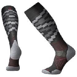 Smartwool PhD Ski Light Elite Sock Charcoal Pattern