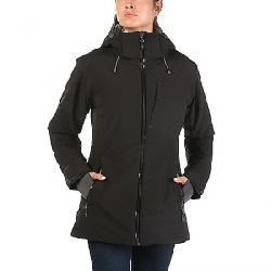 Moosejaw Women's Mt. Elliott Insulated Waterproof Jacket Black / Smoke