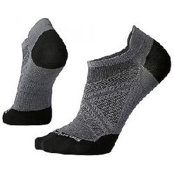 Smartwool PhD Run Ultra Light Micro Sock Graphite / Black