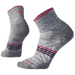 Smartwool Women's PhD Outdoor Ultra Light Mini Sock Light Grey Heather