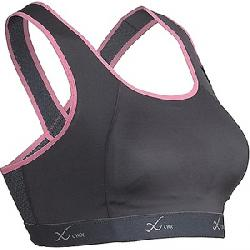 CW-X Women's Xtra Support Running Bra III Charcoal / Pink