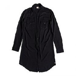 Roxy Women's Tomini Bay View Shirt Dress True Black