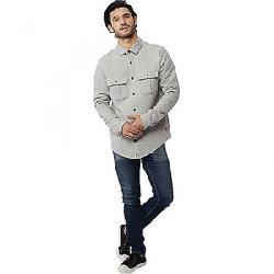 Tentree Men's Colville LS Button Up Shirt Lunar Rock