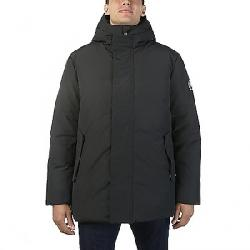 Save The Duck Men's Faux Fur Lined Parka Jacket 01 Black