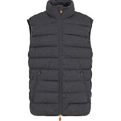 Save The Duck Men's Signature Stretch Vest 670 Charcoal Grey Melange