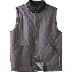 Pendleton Men's Reversible Canvas Vest Charcoal Grey w/Black Grey Mix