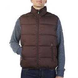 Save The Duck Men's Recycled Collection Reversible Vest 1250 Burgundy Black
