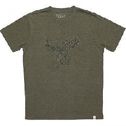 Tentree Men's Celestial Moose T-Shirt Olive Night