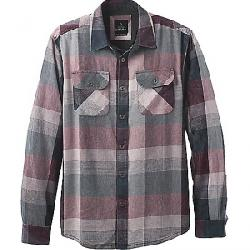 Prana Men's Lybeck LS Shirt Charcoal