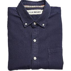 The Normal Brand Men's Brushed Weekday Twill Shirt Navy