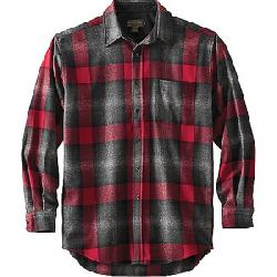 Pendleton Men's Long Sleeve Lodge Shirt Black/Grey Mix/Red Ombre