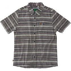 HippyTree Men's Hawthorne Woven SS Shirt Brown