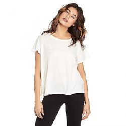 good hYOUman Women's Claire SS Box Tee Salt