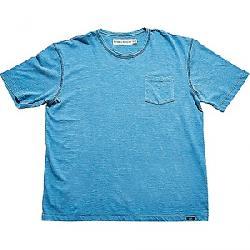 The Normal Brand Vintage Men's Slub Short Sleeve Pocket T Blue