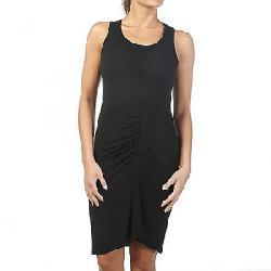Splendid Women's Shirred Dress Black