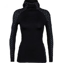 Icebreaker Women's Affinity Thermo Hooded Pullover Black