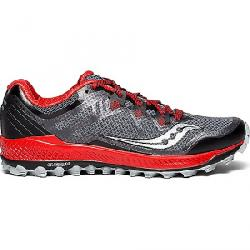 Saucony Men's Peregrine 8 Shoe Black / Red