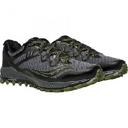 Saucony Men's Peregrine 8 Shoe Grey / Black / Green