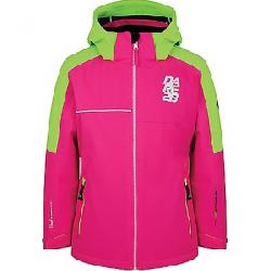 Dare 2B Kid's Labyrinth Jacket Cyber Pink / Neon Green