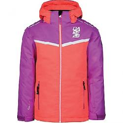 Dare 2B Kid's Start Out Jacket Fiery Coral / Ultraviolet Purple