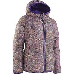 Under Armour Girls' Print Prime Puffer Jacket Sparkling Glitter/Purple