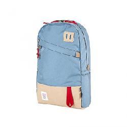 Topo Designs Daypack Storm / Khaki Leather