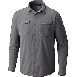 Mountain Hardwear Men's Canyon Pro Long Sleeve Shirt Manta Grey