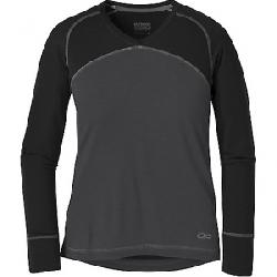 Outdoor Research Womens Alpine Onset V-Neck Top Storm / Black