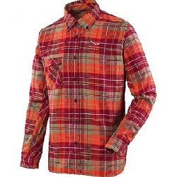 Salewa Men's Fanes Flannel 3 PL LS Shirt Pump / Velvet / Oil
