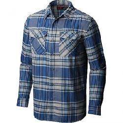 Mountain Hardwear Men's Trekkin Flannel LS Shirt Machine Blue
