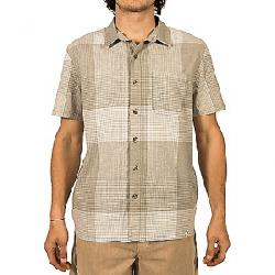 Gramicci Men's Sunset Plaid SS Shirt Olive Sage