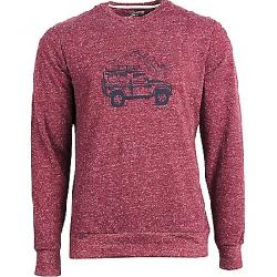 United By Blue Men's Adventure Mobile Crew Pullover Wine