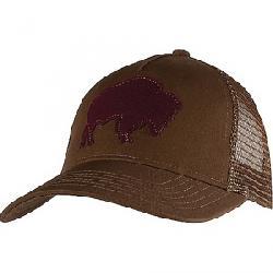 Mountain Khakis Bison Patch Trucker Cap Coffee