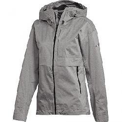 Adidas Women's Swift Pro 2.5 Layer Jacket Medium Grey Heather