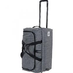 Herschel Supply Co Wheelie Outfitter Travel Duffel Raven Crosshatch