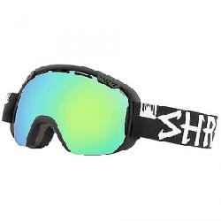 Shred Smartefy Snow Goggle Blackout CBL/Plasma/CBL Green/Plasma Reflect