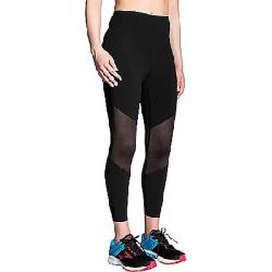 Brooks Women's Ghost Mesh Crop Pant Black