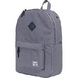 Herschel Supply Co Heritage Backpack Mid Grey Crosshatch
