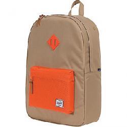 Herschel Supply Co Heritage Backpack Kelp / Vermillion Orange