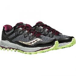 Saucony Women's Peregrine 8 Shoe Black/Mint/Be