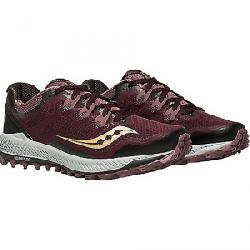 Saucony Women's Peregrine 8 Shoe Wine / Peach