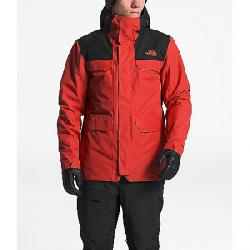 The North Face Men's Alligare ThermoBall Triclimate Jacket Fiery Red / TNF Black