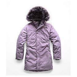 The North Face Kid's Arctic Swirl Down Jacket Purple Sage