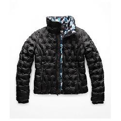 The North Face Women's Holladown Crop Jacket TNF Black / Multi Glitch Print