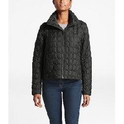 The North Face Women's ThermoBall Crop Jacket Asphalt Grey