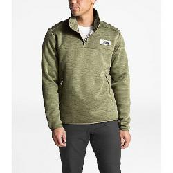 The North Face Men's Sherpa Patrol 1/4 Snap Pullover Four Leaf Clover Heather