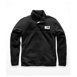 The North Face Men's Sherpa Patrol 1/4 Snap Pullover Weathered Black Heather