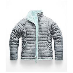 The North Face Girls' Reversible Mossbud Swirl Jacket TNF Medium Grey Heather