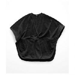 The North Face Women's Crescent Poncho TNF Black Heather